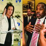 <strong>Rosie</strong> <strong>O'Donnell</strong>, Ben Carson put their South Florida mansions up for sale