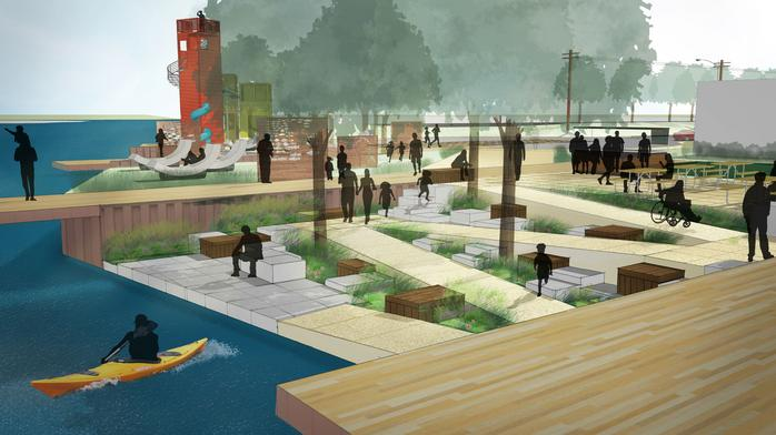Harbor District delays plaza construction, plans for bigger project next year