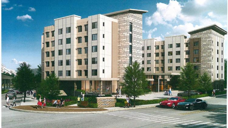 A Possible Rendering Of The Hotel At Walnut Creek Site From Fpg Development Group
