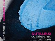 Seattle Symphony has just received two Grammy nominations in the classical category: both are for this album, the third installment of the all-Dutilleux series on the Seattle Symphony Media label.