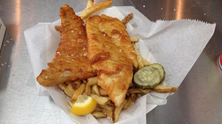 Mac 39 s fish chips strips frying up second st paul location for Mac s fish and chips
