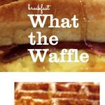 What the Waffle dishing out breakfast sandwiches in Olde Towne East