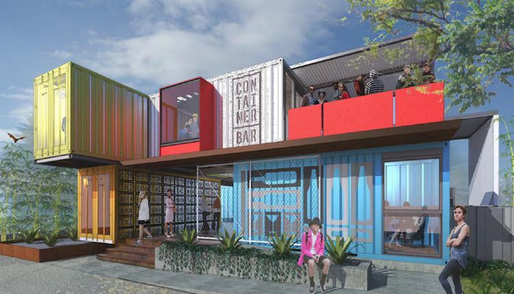 Exclusive Container Bar On Rainey Street Finally Underway
