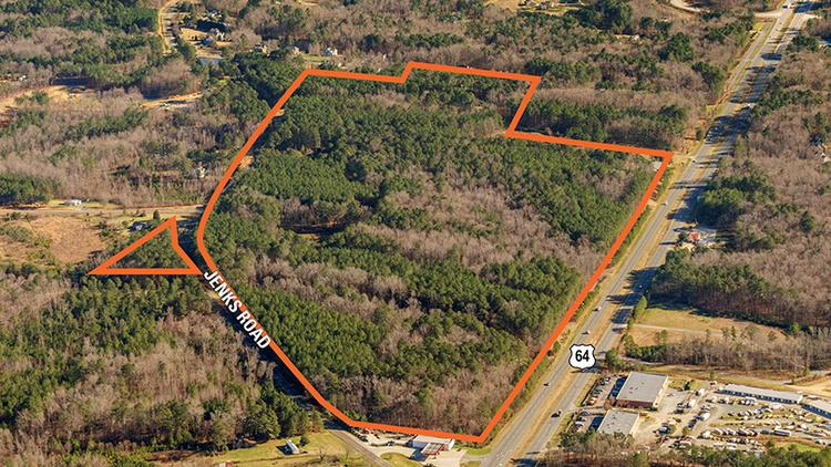 A 92-acre tract of land known as Westford in Apex was sold in December 2016 for $10.8 million.