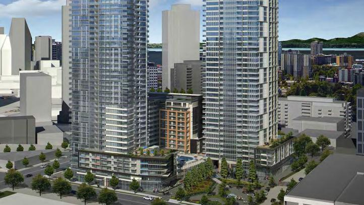 The Onni Group plans to start construction on this residential development next to the Seattle Times' headquarters.