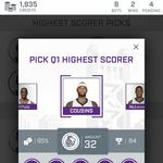 Love making sports predictions? The Kings have an app for you