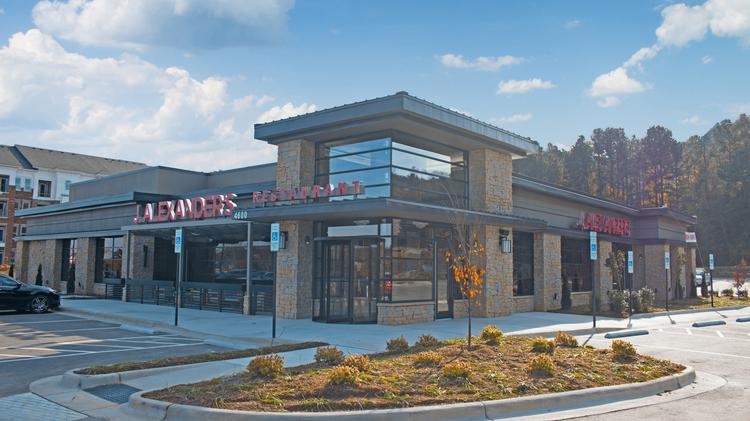 New J Alexanders Restaurant Opens Next To Crabtree Valley Mall In