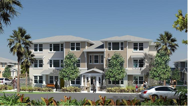 Building Better Communities And Pinnacle Housing Group Break Ground On Oakland Preserve