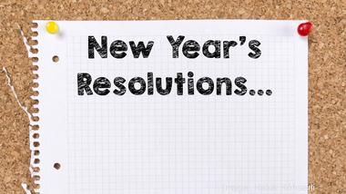 What is your New Year's resolution for your career?