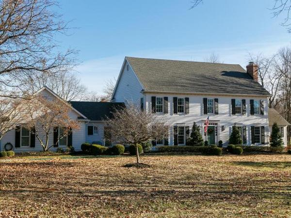 Stylish Colonial on a Gorgeous 5 Acre Parcel in a Highly Desirable Equestrian Community