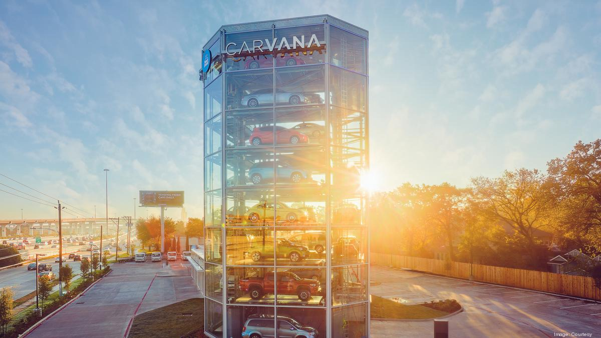 Carvana Opens Houston Car Vending Machine Off Katy Freeway