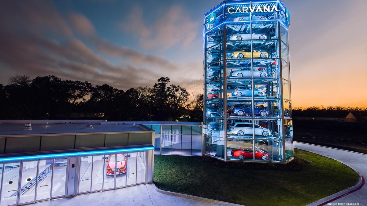 Carvana Opens Nation S Largest Car Vending Machine In This