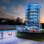 <strong>Carvana</strong> opens nation's largest car vending machine in this city