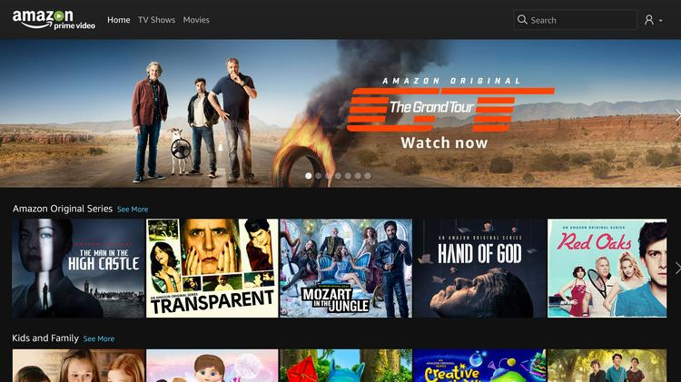 Amazon Prime Video joins Netflix, Youtube in Comcast's