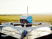 Amazon has been testing drone delivery in the U.K.