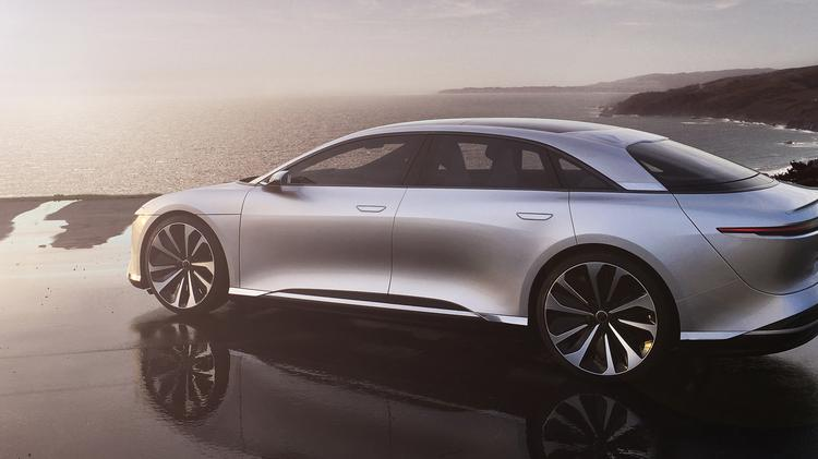 Lucid Motors Plans To Build The Air Its First Production Luxury Electric Vehicle From