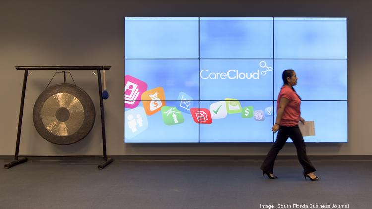The CareCloud offices in Miami.