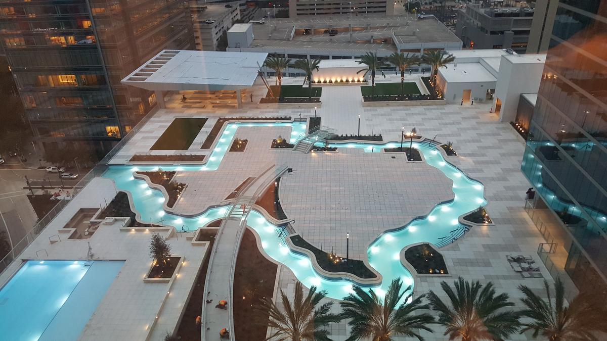 Marriott Marquis Houston Downtown Tour Before Dec 26 Opening Houston Business Journal