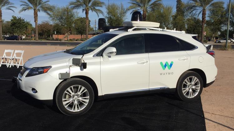 Waymo launching self-driving car service in Phoenix