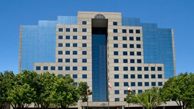The 288,920-square-foot office tower sits along the Dallas Parkway in Addison. This is the Irving-based real estate investment firm's third such office building in the immediate area.