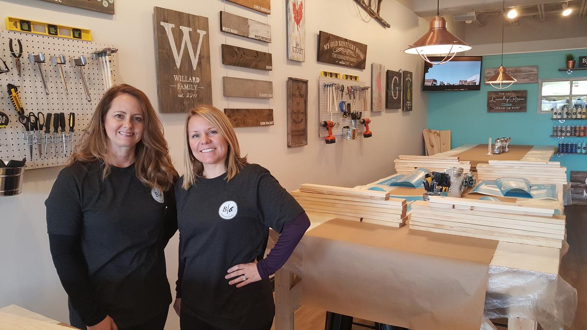 New east louisville business puts a twist on paint and sip for Paint and sip louisville co