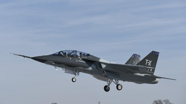 Boeing Saab T X Military Training Jet Makes First Flight