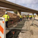 ADOT laying first pavement on Loop 202 South Mountain extension