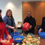 ITG, Syngenta employees pack and bag donations