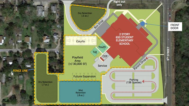 Subcontractor Bidding To Start In Spring For Winter Garden 39 S New Maxey Elementary School