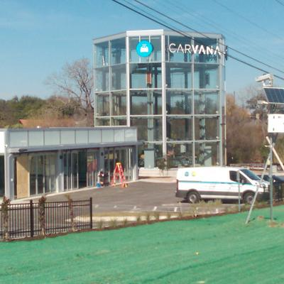 carvana vending machine atlanta