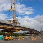 <strong>HART</strong> crews set final guideway segments along Kamehameha Highway