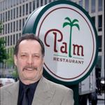 Tommy Jacomo bidding farewell to the Palm