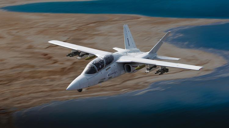 Textron Inc  divisions combine to give Scorpion jet new