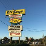 Half-pound 'knife and fork' burgers among Biff's most popular