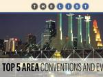 Top of the List: Conventions and Events