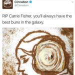 Cinnabon gets burned for tweeting about <strong>Carrie</strong> <strong>Fisher</strong>'s Star Wars buns