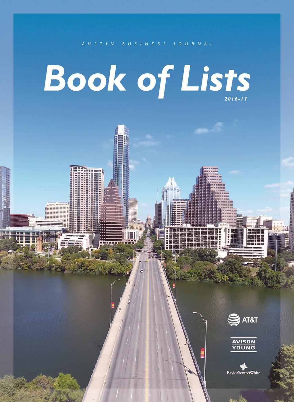 book of lists austin business journal