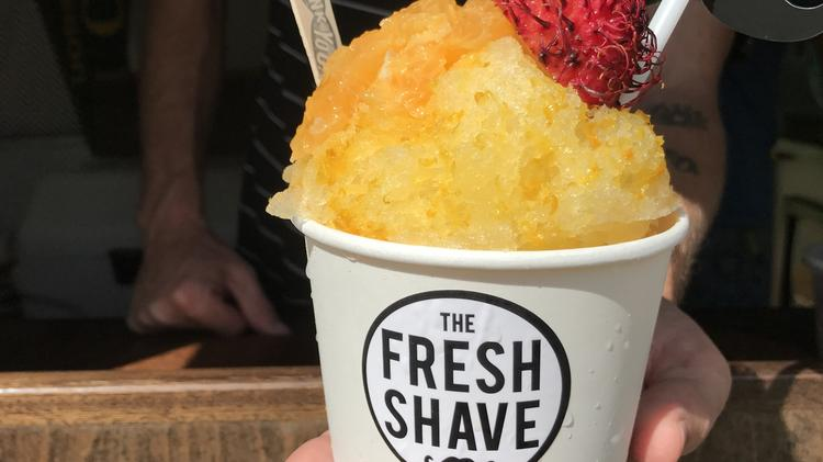 Apologise, but, shaved ice california phrase