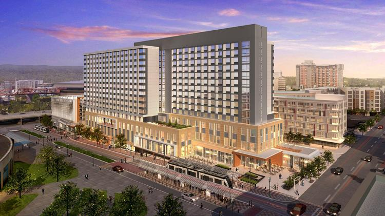 The Oregon Convention Center Hotel Is Closer To Reality Than It S Ever Been If All
