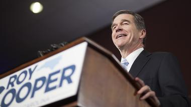 What grade would you give Gov. Roy Cooper's first 100 days in office?