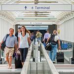 Airport sees unprecedented passenger growth in June