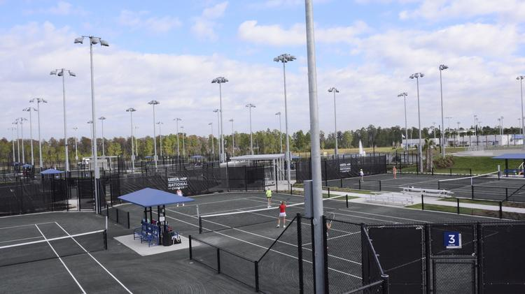 The USTA National Campus at Lake Nona features than 100 courts that offer a variety of playing surfaces.