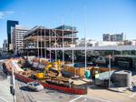 Moscone overhaul hits halfway point of $551M expansion