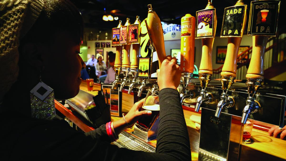 Triad s craft beer market growing and flowing greensboro for Craft beer market share 2017