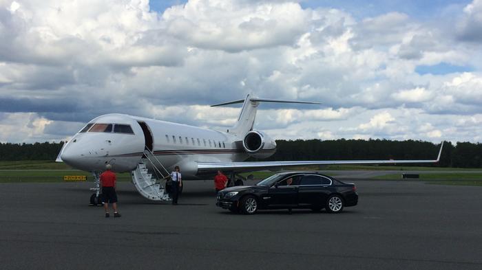 Bombardier bringing Global 5000 work to Wichita