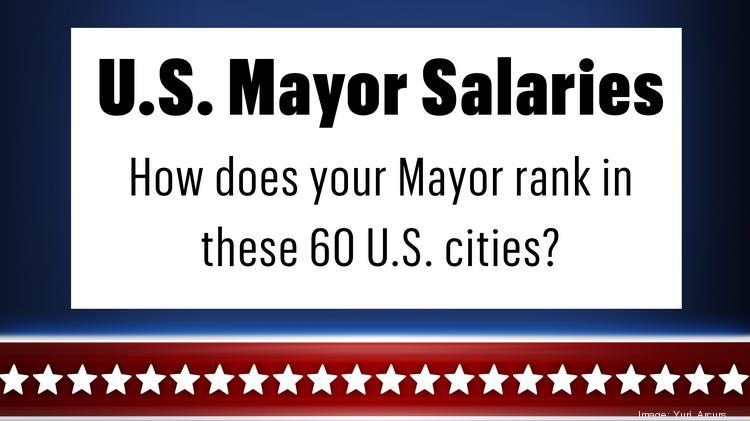 Mayors Bill de Blasio, Eric Garcetti and Rahm Emanuel earn