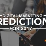 ​Five key digital marketing predictions for 2017