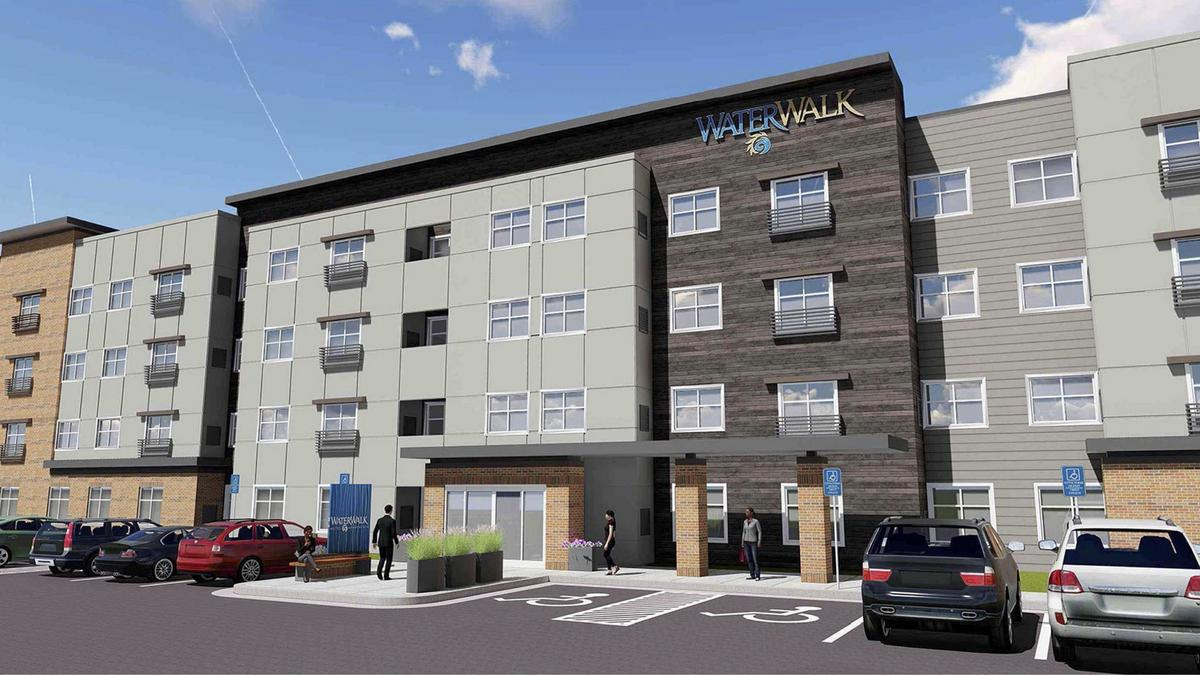 Extended stay pioneer plans 20m hotel apartment hybrid in for Apartment hotel plans