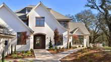 Brand New Contemporary Tudor Style Home in Gated Oakhill