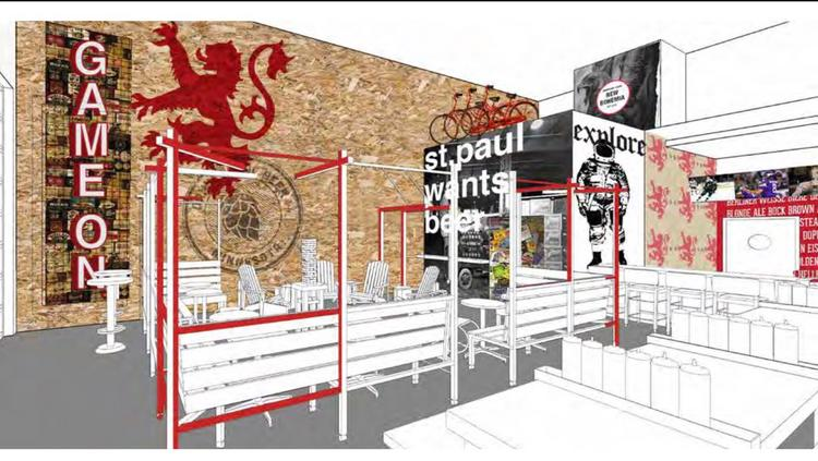 A Rendering Of The New Bohemia St Paul Location Photo Shea Design
